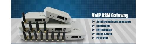 • GoIP Gateway GSM VoIP
